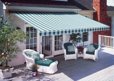 Canvas Heavy Duty Folding Arm Awnings